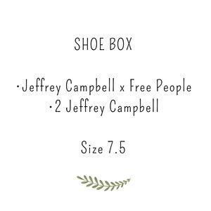 Shoe box, Jeffrey Campbell